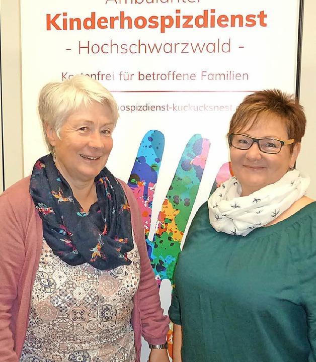 Neu im Vorstandsteam: Claudia Villinger (links) und Johanna Helmle.   | Foto: Simoneit