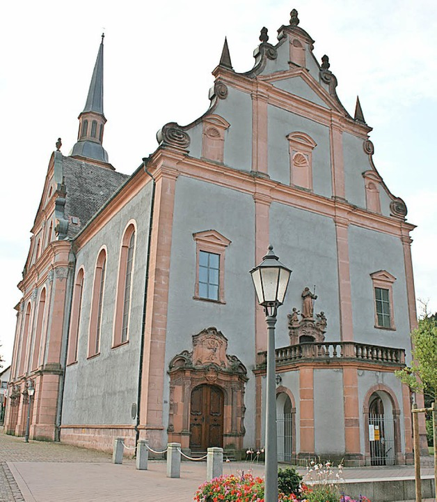 Ort des Konzerts: St. Landelin in Ettenheimmünster   | Foto: Theo Weber