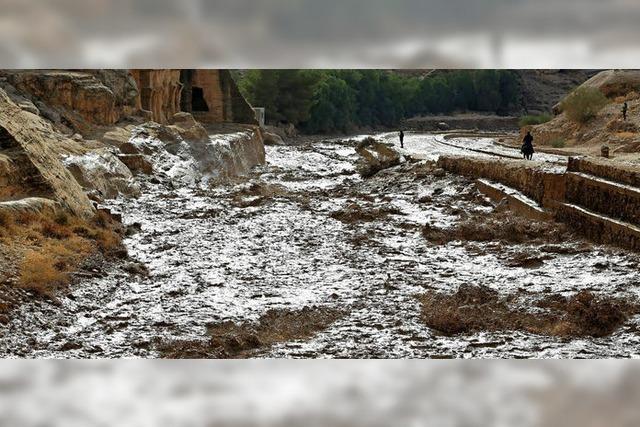 Felsenstadt Petra evakuiert