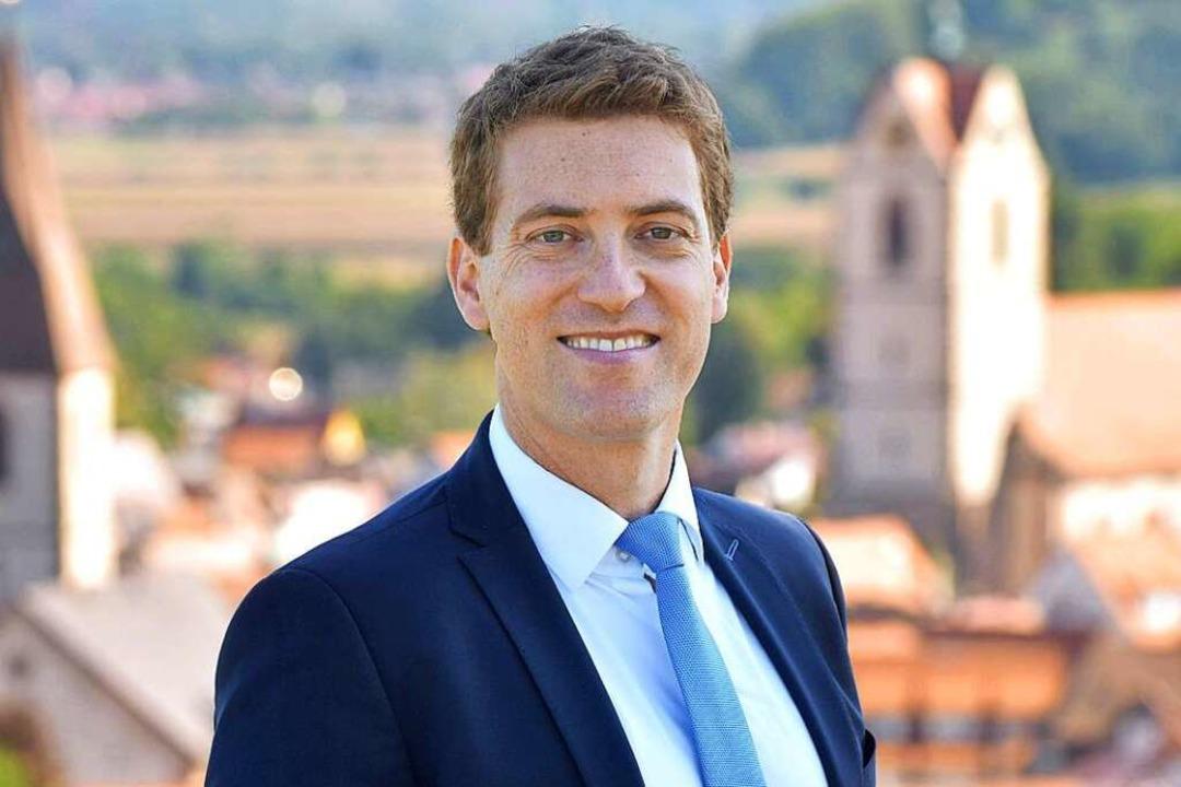 Tobias Metz geht als klarer Favorit in den zweiten Wahlgang.  | Foto: Privat