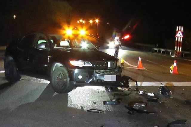 60 000 Euro Schaden bei Unfall bei Eiken