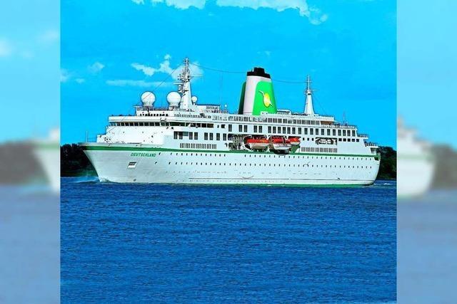 Mit MS Deutschland auf der Ostsee