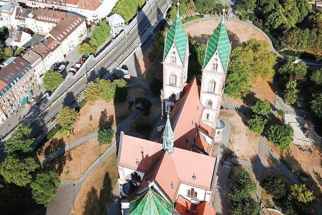 Der Stühlinger Kirchplatz ist ein Park mit Potenzial