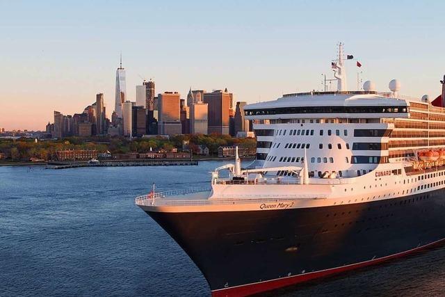 Mit der Queen Mary 2 nach New York