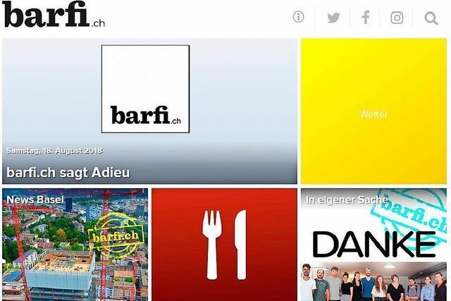 Basler Nachrichtenportal barfi.ch ist pleite