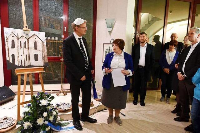 Arbeit am Modell der zerstörten Freiburger Synagoge dauert länger