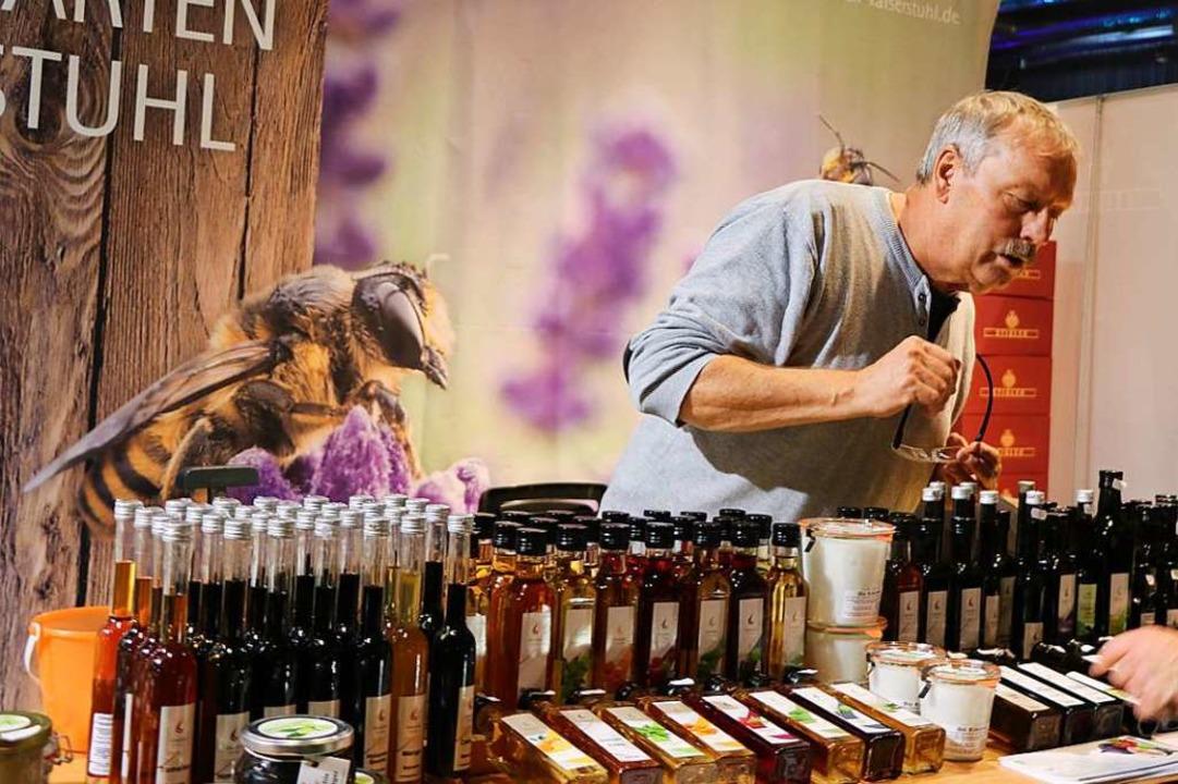 Feinste Öle aller Art präsentierte die...hle Fessinger auf der Plaza Culinaria.  | Foto: Claudia Müller