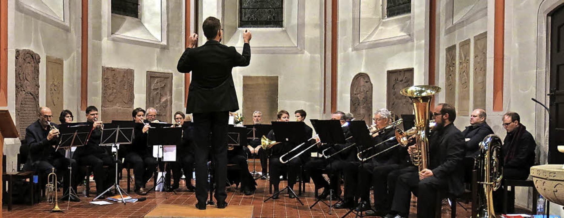 Bläserkonzert mit dem Posaunenchor Emmendingen und Bläserkreis Bötzingen  | Foto: Georg Voß