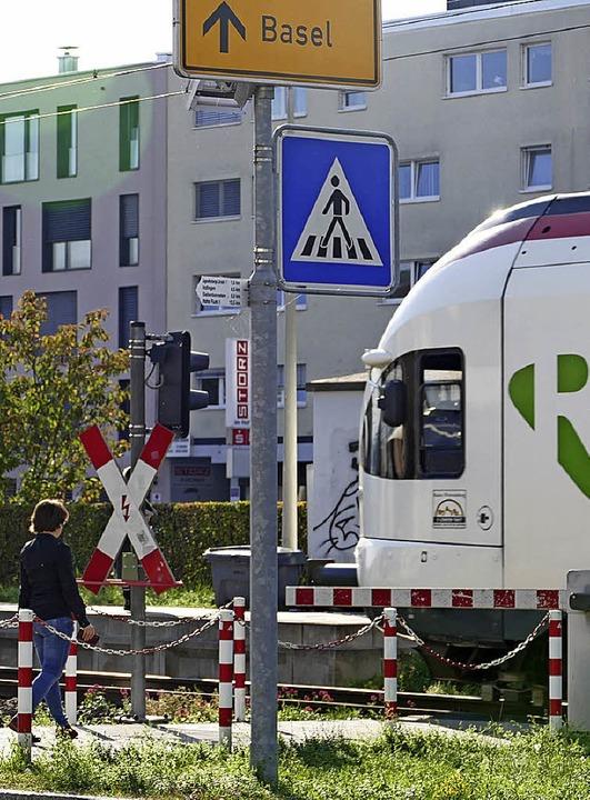 Die Taktverdichtung der S-Bahn, hier a...cklung der Gemeinden im Wiesental dar.    Foto: Peter gerigk