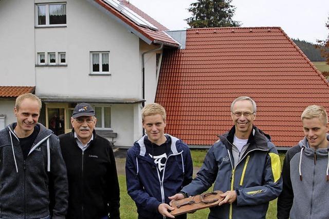 Trio übernimmt das Naturfreundehaus
