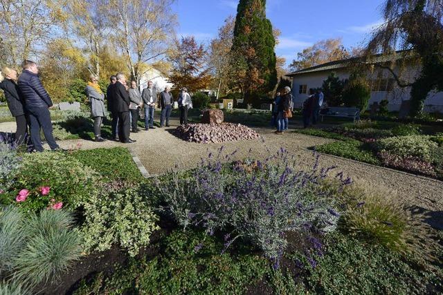 Auf dem Friedhof Bergäcker gibt es ein neues Gräberfeld
