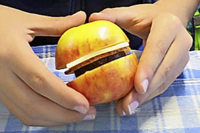 An die Äpfel, fertig, los!