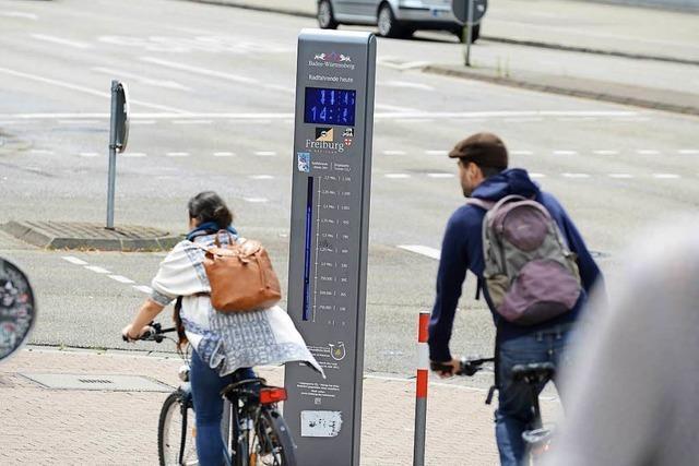Zählstation an der Wiwilí-Brücke registriert mehr als drei Millionen Radler