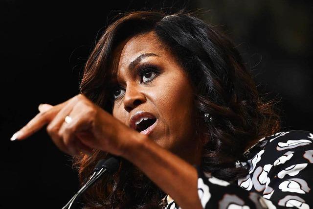 In den Memoiren von Michelle Obama geht es auch um Donald Trump