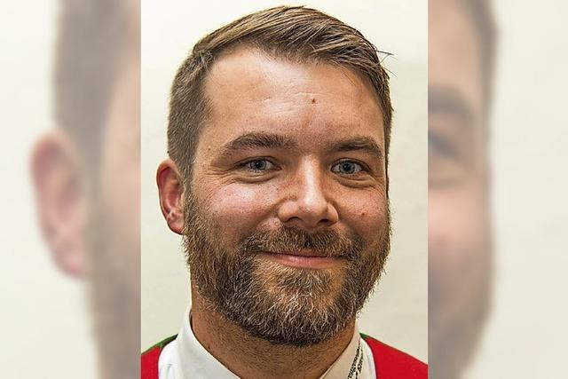 Sebastian Winter ist neuer Oberzunftmeister