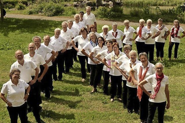 Kirchenchor Bernau und die Gruppe