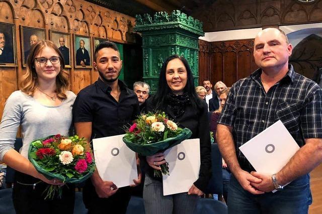 Vier Menschen wegen ihrer Zivilcourage bei Messer-Attacke in Ravensburg geehrt
