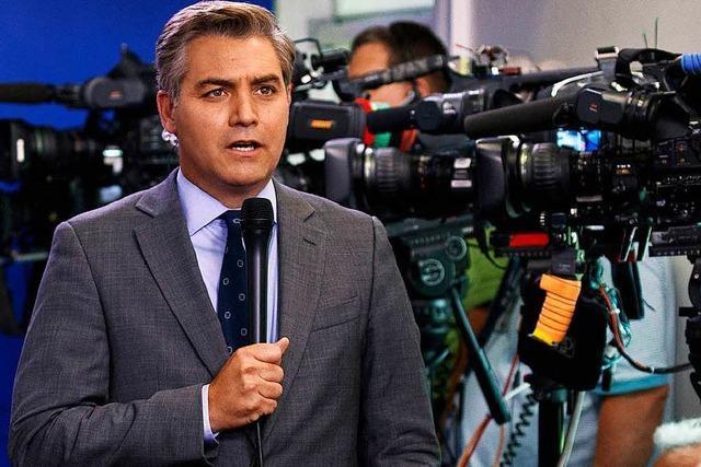 CNN klagt gegen Trump wegen Ausschlusses eines Reporters
