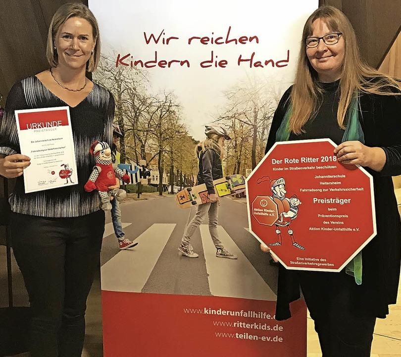 Sinja Grießer (links) und Anne-Pia Thiele  | Foto: Veranstalter