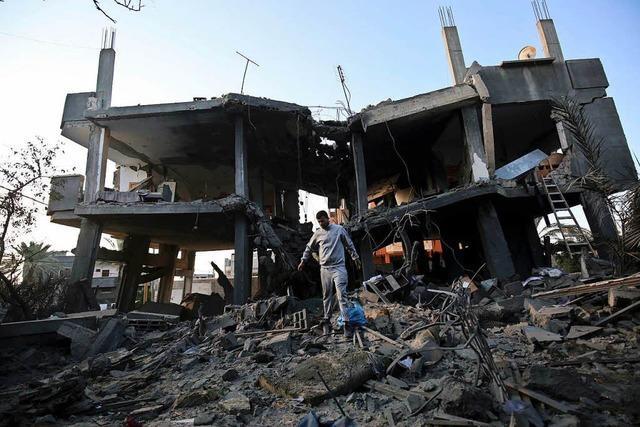 Palästinenser verkünden einseitig Waffenruhe mit Israel