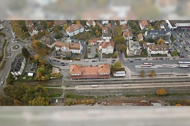 Trans Rhin Rail wirbt für die Bahnlinie Freiburg-Colmar