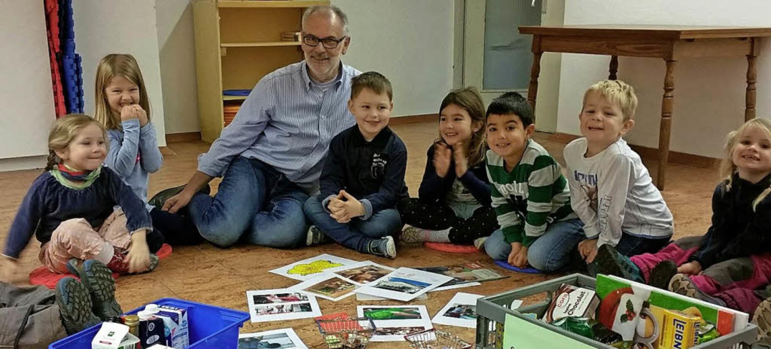<BZ-FotoAnlauf>Kindergärten:</BZ-FotoA...die Tafel Dreiländereck funktioniert.     Foto: Privat