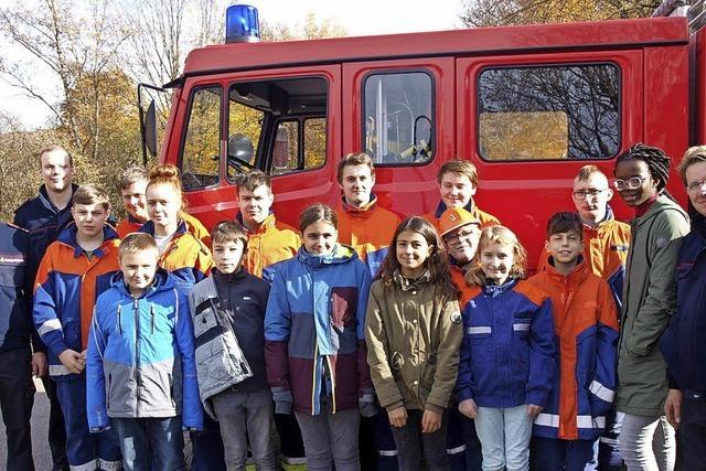 Feuerwehr wirbt spielend Nachwuchs
