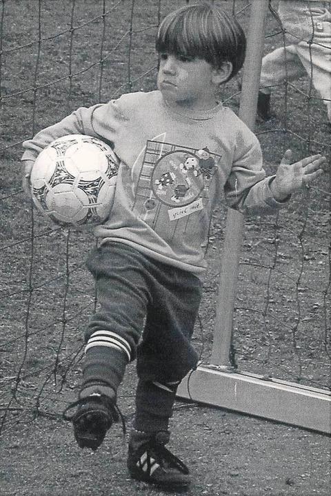 Christian Günter als Vierjähriger  | Foto: Eckhard Günter