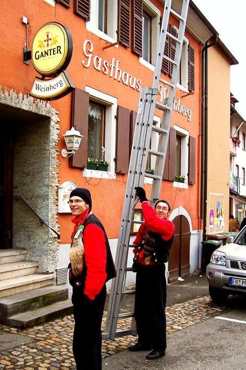 Lalli vor dem Weinberg (Archivbild)  | Foto: Hans Sigmund