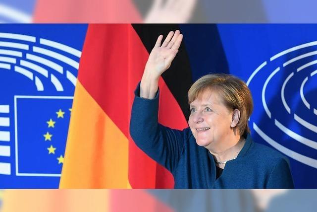 Merkel wirbt für EU-Armee