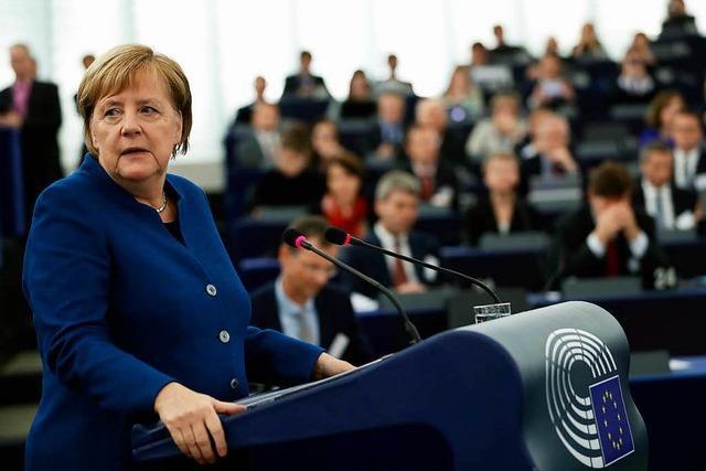 Merkel hat keine neue Vision für Europa – aber noch einiges vor