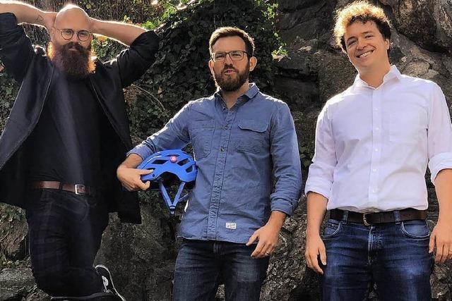 Alarmsystem für Fahrradhelme