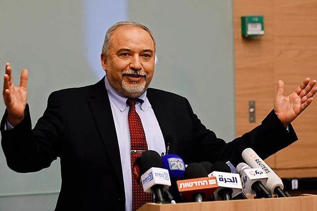 Israels Verteidigungsminister Lieberman tritt zurück – Gibt es Neuwahlen?