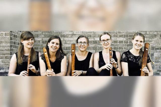 Sopran plus Flöten: Das Flauto Consort Freiburg gibt ein Adventskonzert