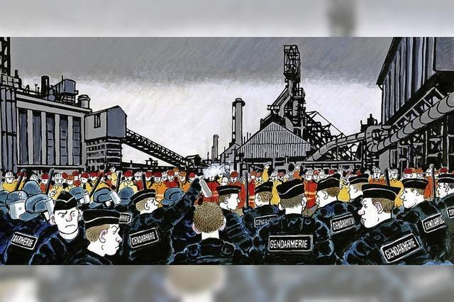 Das Cartoonmuseum Basel stellt den französischen Comiczeichner Jacques Tardi aus