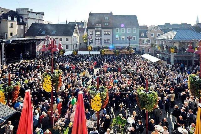 Viele Gäste aus dem Elsass sorgen für gute Chrysanthema-Bilanz