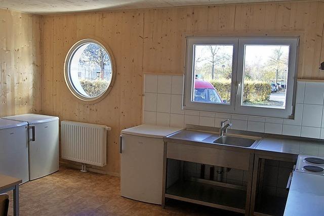 Flüchtlingsunterkunft in Rheinhausen ist fertig