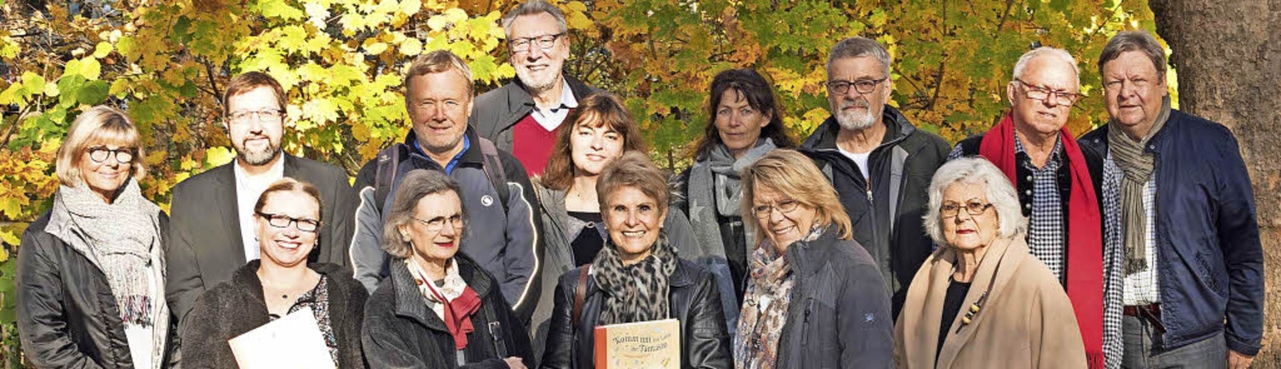 Einige der Waldkircher  Vorleserinnen und Vorleser für den Vorlesetag am Freitag  | Foto: Helmut Rothermel