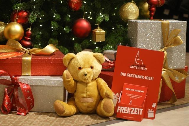 Das perfekte Weihnachtsgeschenk: Der Freiburger Gutschein