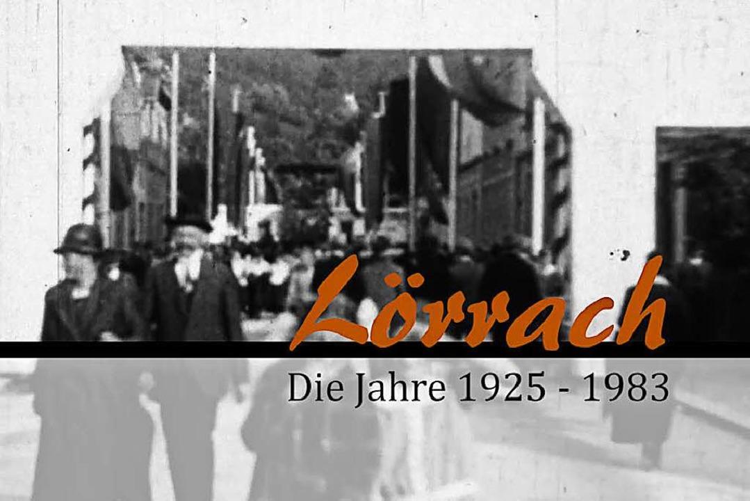 Ausschnitt aus dem Trailer des Lörrach-Films der BZ  | Foto: Filmstill