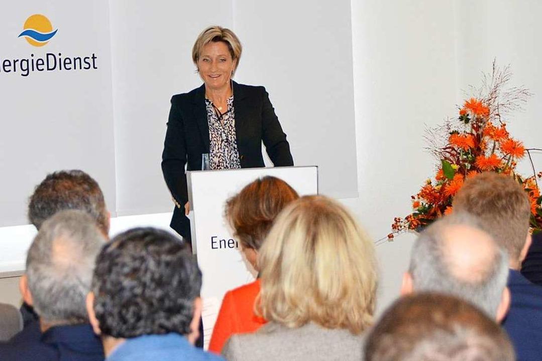 Landeswirtschaftsministerin Nicole Hoffmeister-Kraut  | Foto: Horatio Gollin