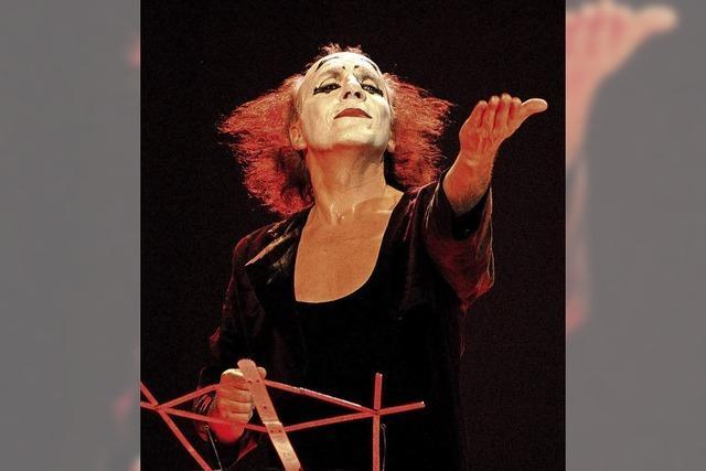 Pantomimekünstler Peter Mim gibt am Freitag 23. November, Vorstellung in der Stadthalle Bonndorf.