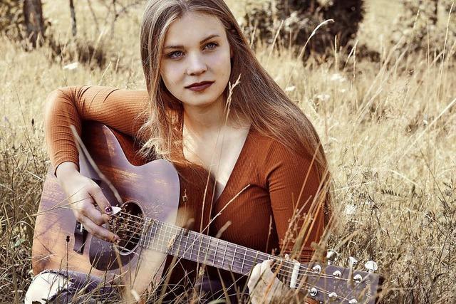 Julia Lauber stellt am Samstag, 17. November, ihr neues Album im Café Verkehrt in Murg-Oberhof vor.