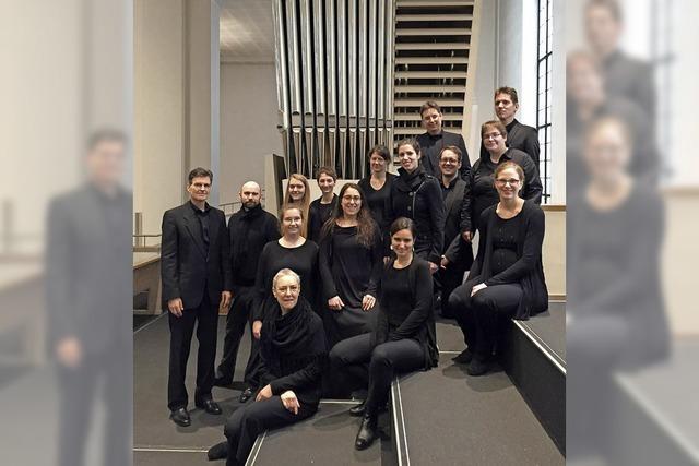 Kammerchor der Dommusik Sankt Eberhardt inn Stuttgart in Endingen