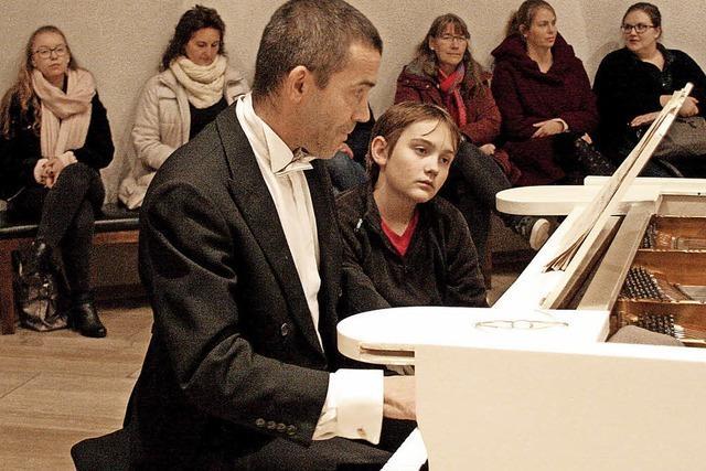 Klavierkonzert zum Wiegenfest