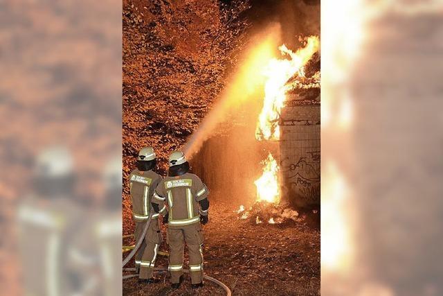 Übungsanlage für Feuerwehren könnte 2021 fertig sein