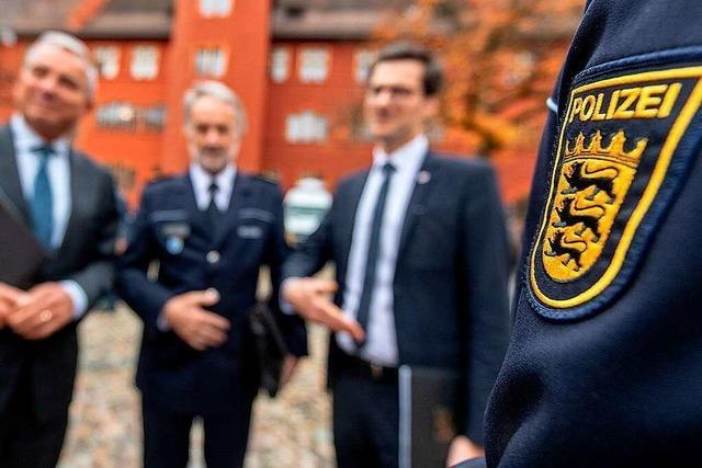 Innenminister Strobl: