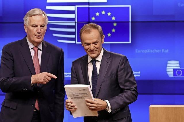 Die EU bleibt bei ihren roten Linien