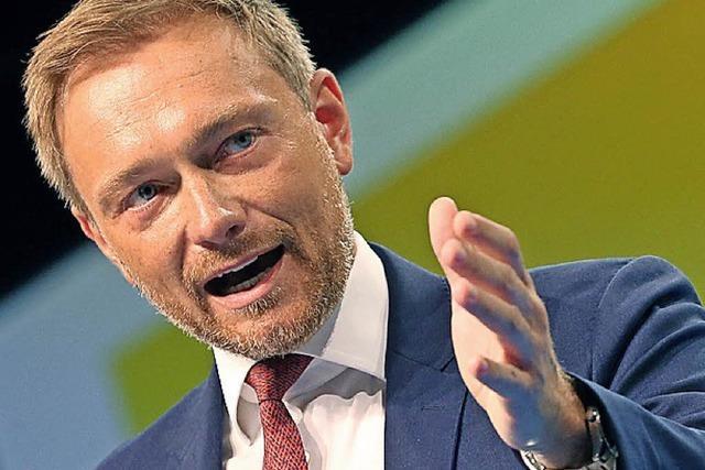 Die FDP will wieder ran