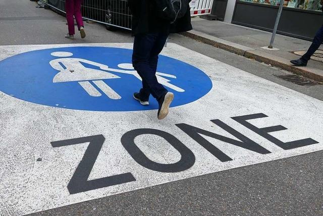 In Lörrach geht man einen Schritt in Richtung sichere Fußwege